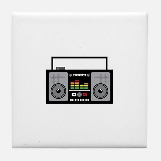 Boombox Tile Coaster