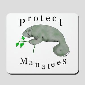 Protect Manatees Mousepad