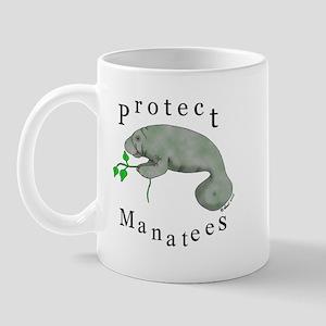 Protect Manatees Mug