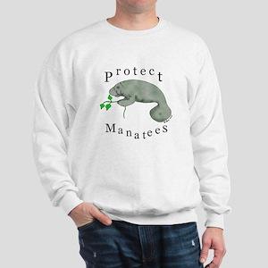 Protect Manatees Sweatshirt