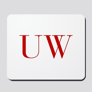 UW-bod red2 Mousepad