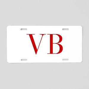 VB-bod red2 Aluminum License Plate