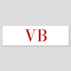VB-bod red2 Bumper Sticker
