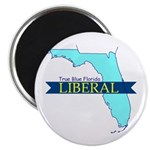 True Blue Florida LIBERAL Magnet
