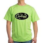 Green T-Shirt w/ RETRO coralcourt.com LOGO
