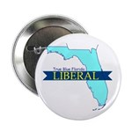 "2.25"" Button (10 pack) True Blue Florida LIBERAL"