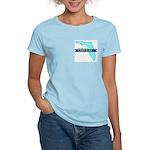 True Blue Florida LIBERAL Women's Pink T-Shirt