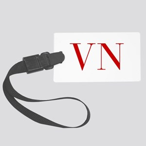 VN-bod red2 Luggage Tag