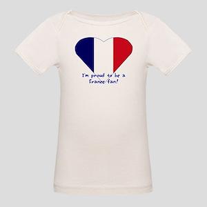 France fan Organic Baby T-Shirt