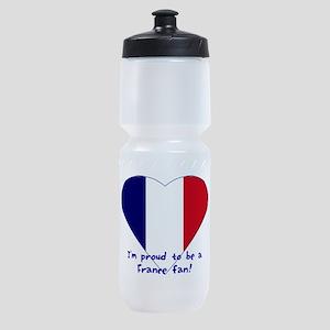 France fan Sports Bottle