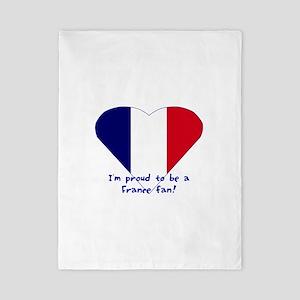 France fan Twin Duvet