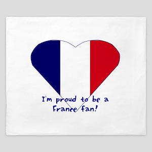 France fan King Duvet