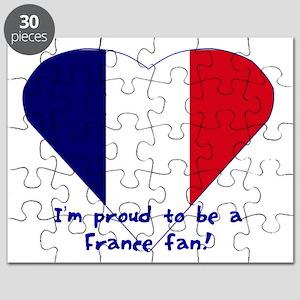 France fan Puzzle