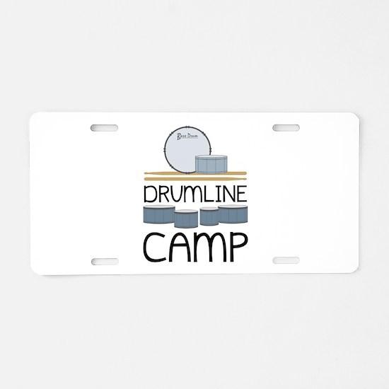 Drumline Camp Aluminum License Plate