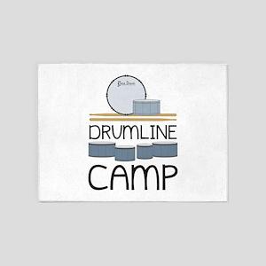 Drumline Camp 5'x7'Area Rug