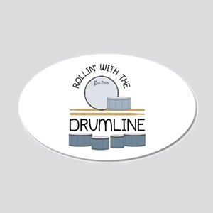 Rollin' With Drumline Wall Decal