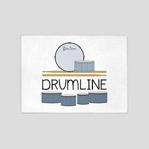 Drumline 5'x7'Area Rug