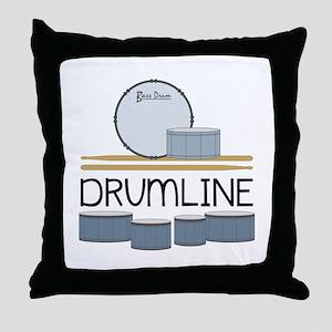 Drumline Throw Pillow
