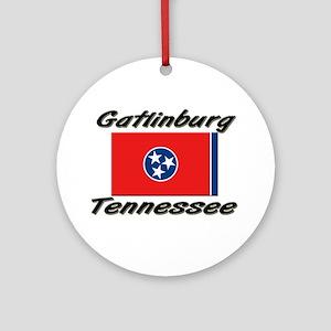 Gatlinburg Tennessee Ornament (Round)