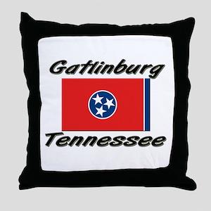 Gatlinburg Tennessee Throw Pillow