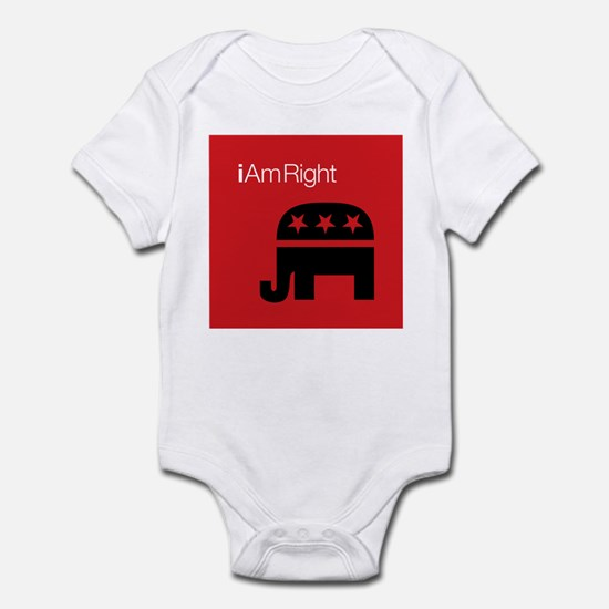 i Am Right Infant Bodysuit