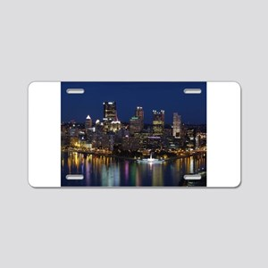 pittsburgh Aluminum License Plate