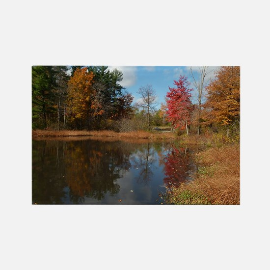 autumn in cleveland Magnets