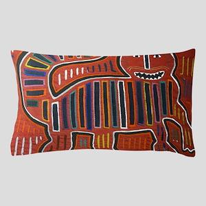 Abstract art cat Pillow Case