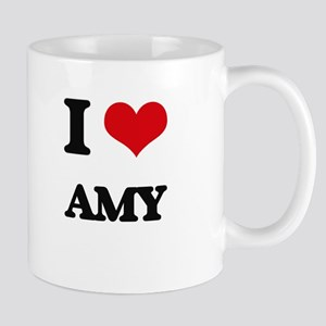 I Love Amy Mugs