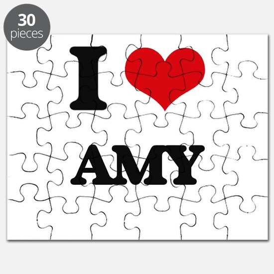 I Love Amy Puzzle