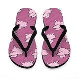 Flying pigs Flip Flops