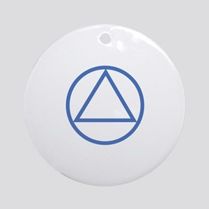 ALCOHOLICS ANONYMOUS Ornament (Round)