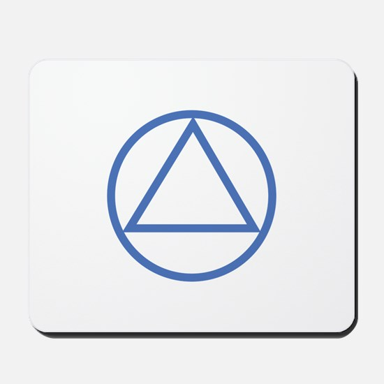 ALCOHOLICS ANONYMOUS Mousepad