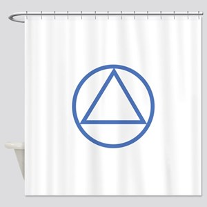 ALCOHOLICS ANONYMOUS Shower Curtain