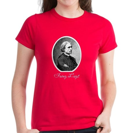 Franz Liszt Women's Dark T-Shirt