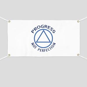 PROGRESS NOT PERFECTION Banner