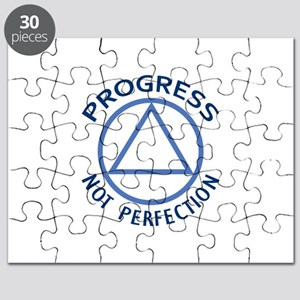 PROGRESS NOT PERFECTION Puzzle