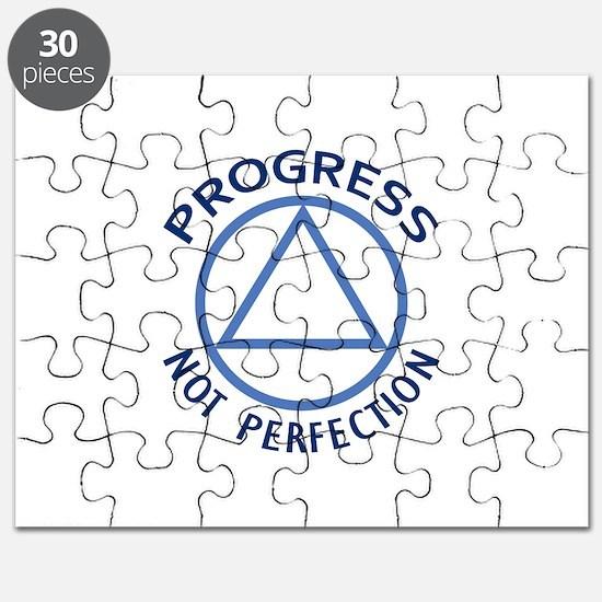 PROGRESS NOT PERFECTION Puzzle