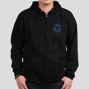 PROGRESS NOT PERFECTION Zip Hoodie