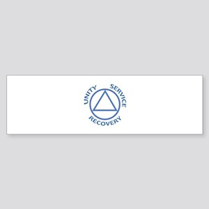 UNITY SERVICE RECOVERY Bumper Sticker