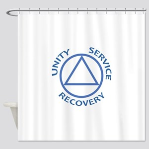 UNITY SERVICE RECOVERY Shower Curtain