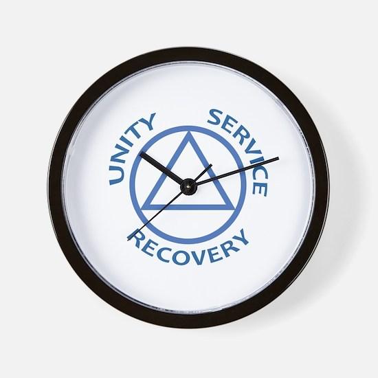 UNITY SERVICE RECOVERY Wall Clock