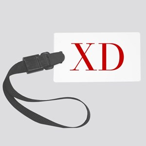 XD-bod red2 Luggage Tag
