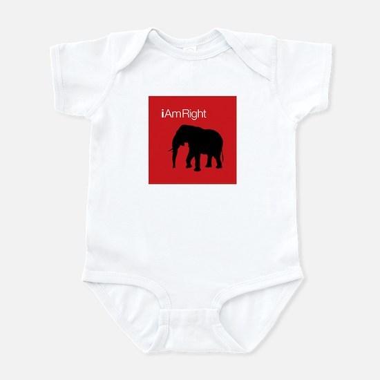 i Am Right. v2 Infant Bodysuit