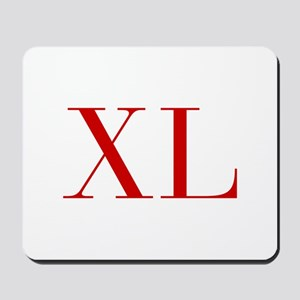 XL-bod red2 Mousepad
