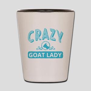 Crazy Goat Lady Shot Glass