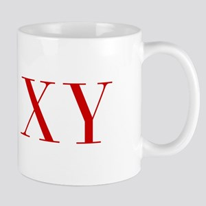 XY-bod red2 Mugs