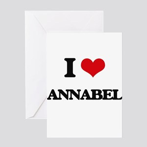 I Love Annabel Greeting Cards