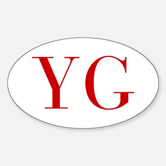 YG-bod red2 Decal