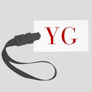 YG-bod red2 Luggage Tag